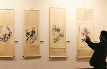 Exhibition showcases works by Quzhou artists