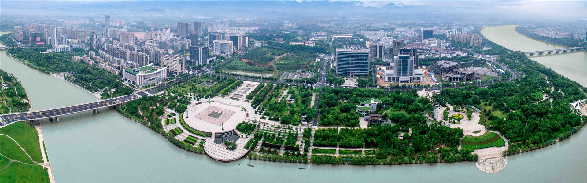 Quzhou promotes Big Garden development with beautiful landscapes