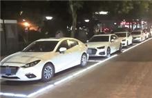 Light-emitting parking spaces debut in Quzhou