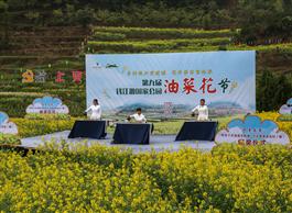 Oilseed rape flower festival opens in Quzhou