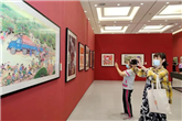 Painting exhibition shows rural life through farmers' eyes