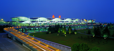 Flying to Hangzhou