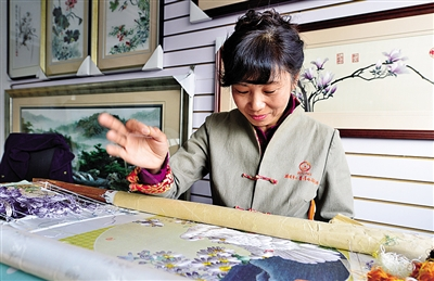 Ou embroidery: treasure of traditional handicrafts