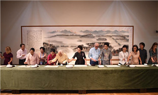 Peng Liyuan, spouses of leaders attending G20 summit visit China Academy of Art