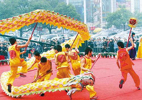 Fenghua Cloth Dragon