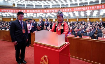 Party members outline views at Zhejiang CPC Congress