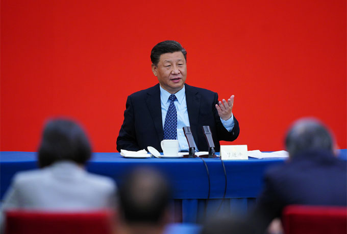 Xi's call to fuel growth boosts confidence