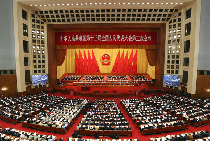 In pics: China's national legislature starts annual session