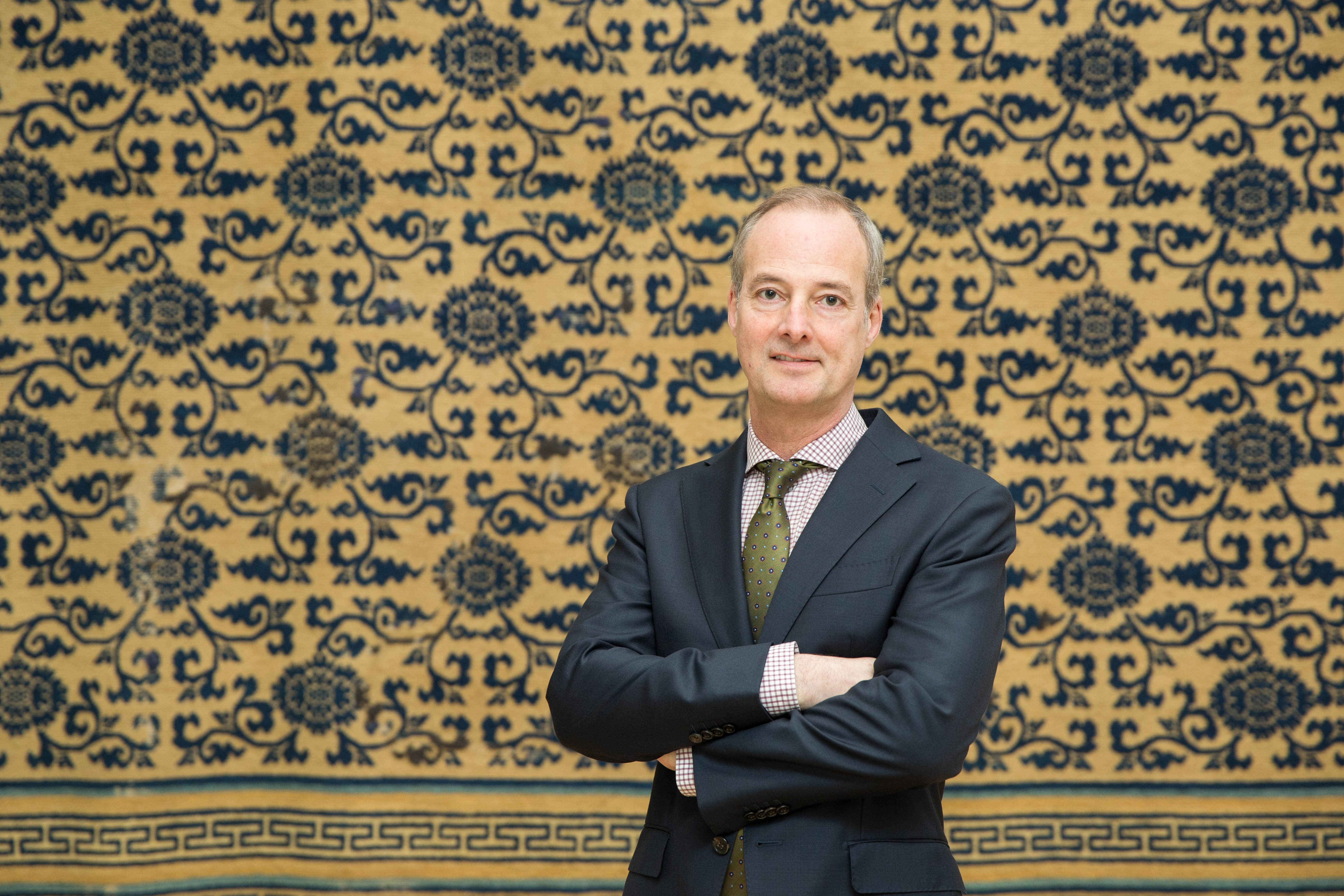 Lee Armstrong Talbot, a curator