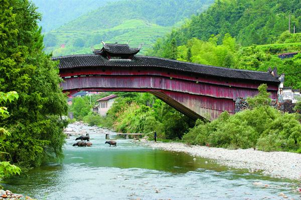 Qingyuan arcade bridges