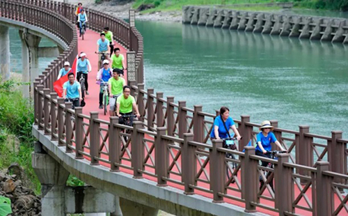 Recommended greenways in Lishui