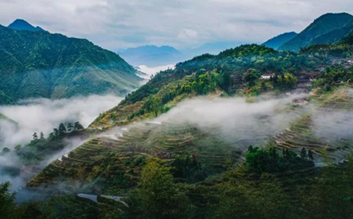 Explore ancient villages in Jingning