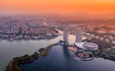 Huzhou, an eco-friendly city