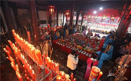 Winter solstice sacrifice in Sanmen