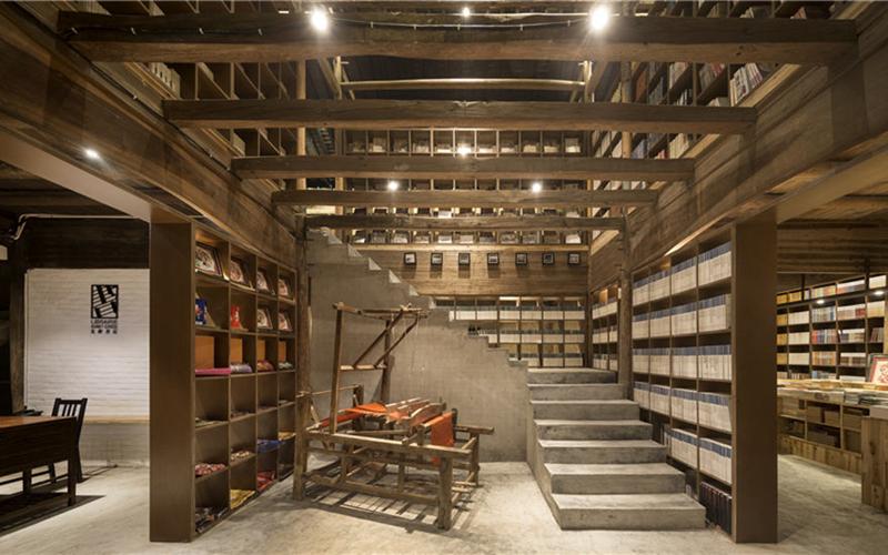 Bookstores rewrite villages' stories