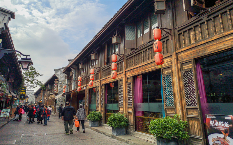 Top 10 commercial pedestrian streets in Zhejiang