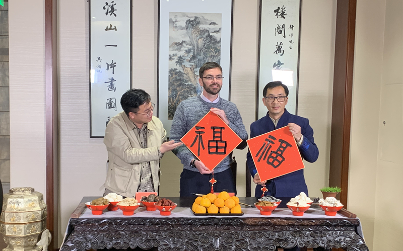 Expat professor in Wenzhou invited to talk on Lunar New Year