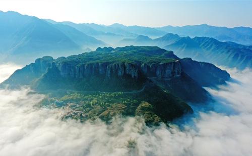 Fangyan scenic area in Xianju