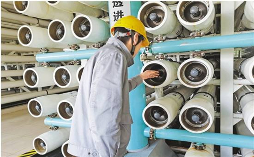 Yuhuan power plant sets example for water conservation