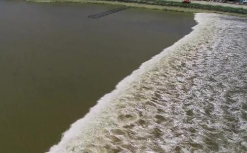 The Spectacular Qiantang River Tide