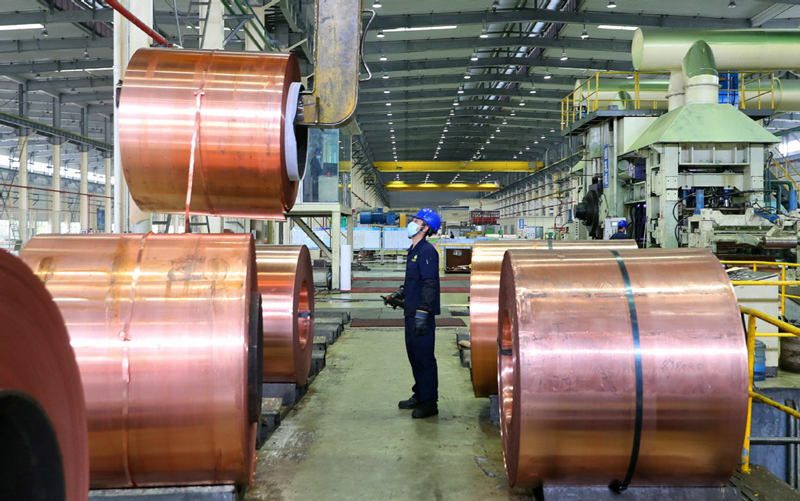 China's industrial profits accelerate rebound in first two months