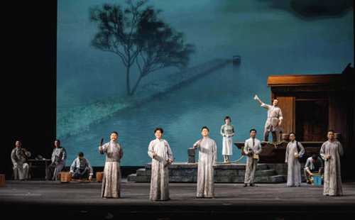 Opera celebrating 100th anniversary of CPC founding premieres