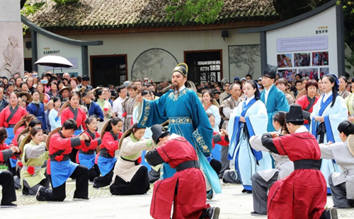 Ancient cultural heritage marks spring plowing in Suichang