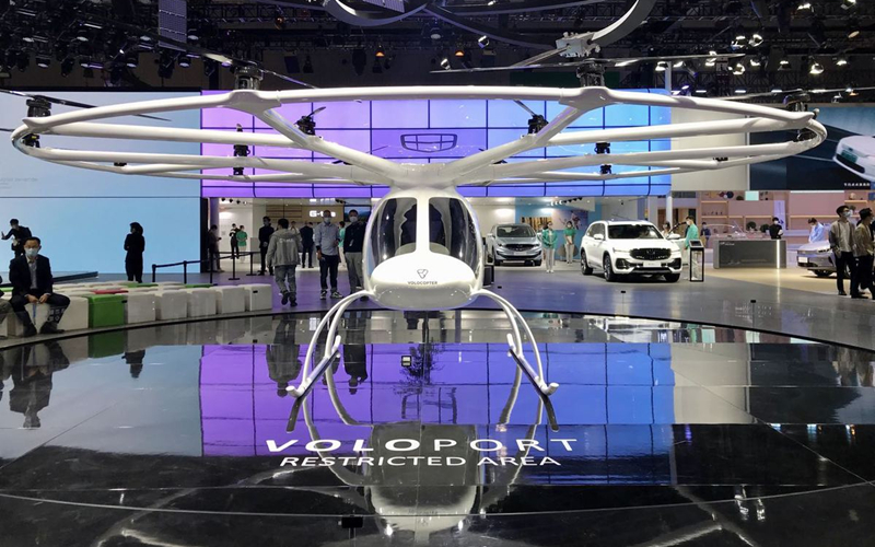 Geely to introduce flying electric taxis into China