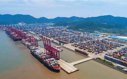 Zhoushan's foreign trade up 26.9% in Q1
