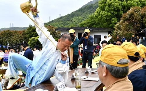 Buddha tea cultural festival kicks off in Putuo