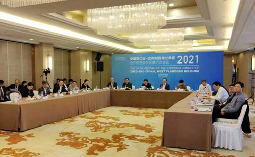Zhejiang, West Flanders to deepen links