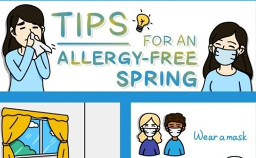 Tips for an allergy-free spring