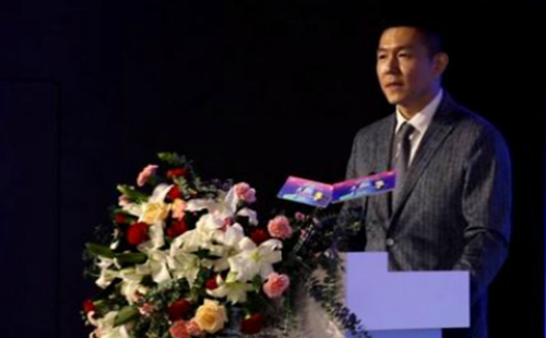 CGTN anchor addresses opening of China Mobile Cup English Star Contest