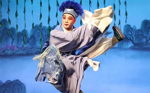 Zhejiang Wuju Opera actor wins Plum Performance Prize