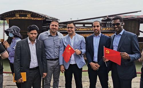 Arab diplomats in China visit Jiaxing