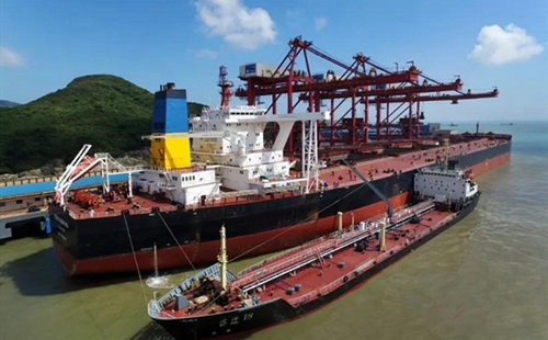 Zhoushan's shipping industry recovers from COVID-19 pandemic