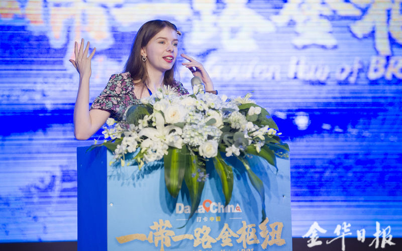 Intl live-streaming hosts tour Jinhua