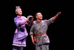 Moving opera with revolutionary theme staged in Jingning