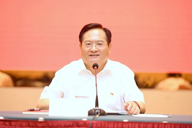 Zhang Bing introduces Jiaxing to domestic, foreign journalists