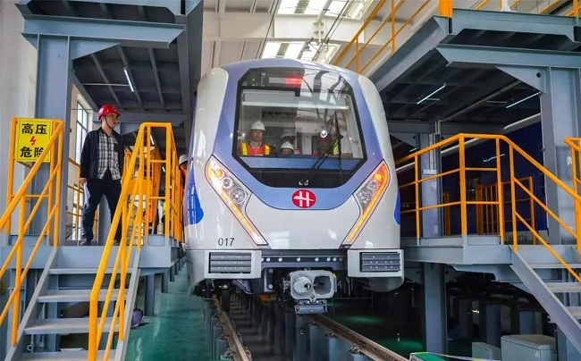 Hangzhou-Haining railway opens to traffic