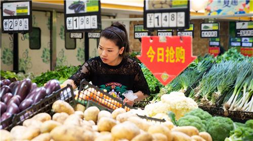 China's CPI up 1.1% in June