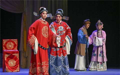 Wuju Opera a symbol of Zhejiang culture