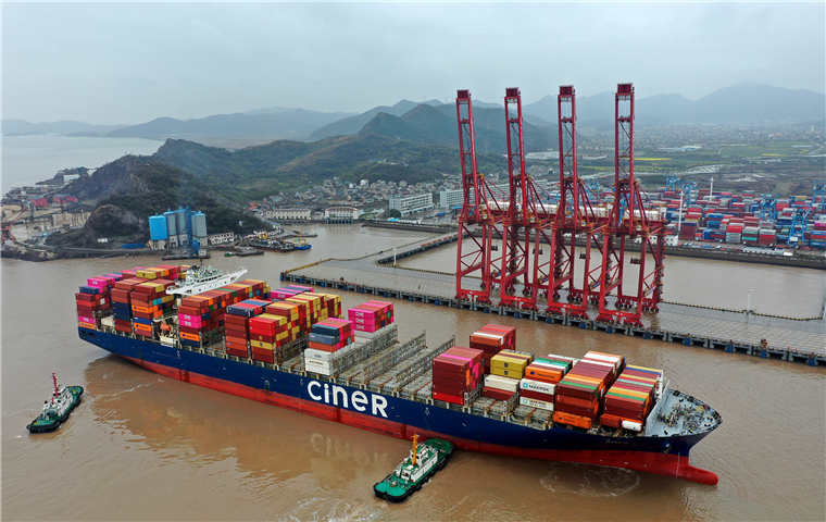 Zhejiang's foreign trade up 30.6% in H1