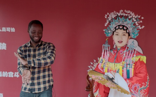 Zhejiang in foreigners' eyes: My movie dream in Hengdian