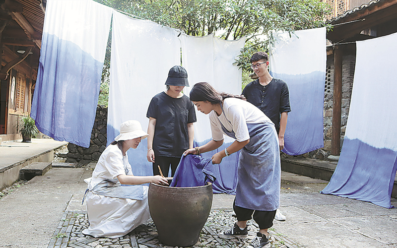 Determined villagers embark on new ventures
