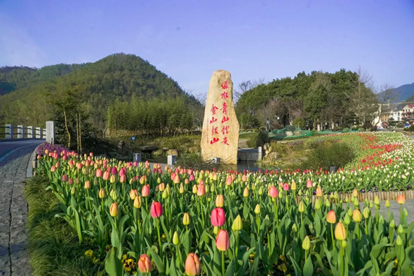 Five Huzhou scenic spots listed as red tourism sites