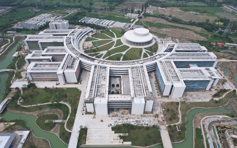 Second phase construction of Yungu campus nears completion