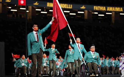 Ningbo athlete serves as China flag-bearer at Tokyo Paralympics