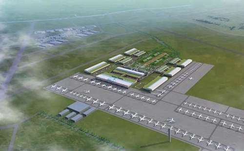 Jiaxing to house a civil and military airport