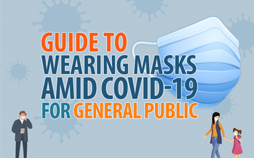 Guide to wearing masks amid COVID-19 for general public